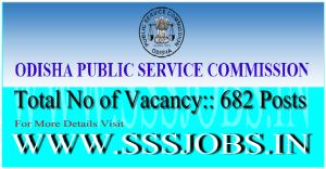 Odisha PSC Recruitment Notification 2015 for 682 Asst Engineers