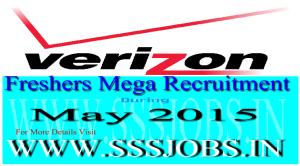 Verizon Freshers Mega Recruitment Drive on May 2015