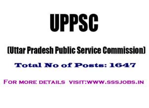 UPPSC Recruitment 2015