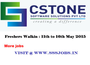 CStone Freshers Walkin