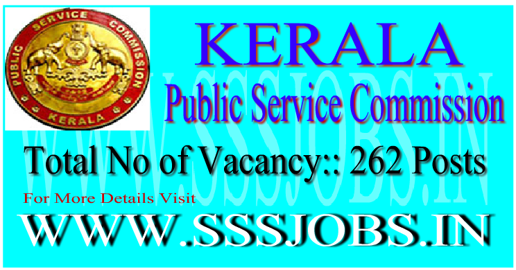 Kerala PSC Notification Recruitment 2015