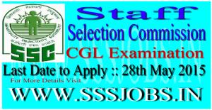SSC Combined Graduate Level Exam Notification 2015