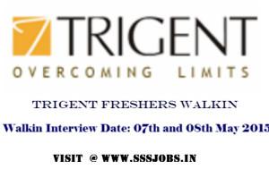 Trigent Freshers Walkin