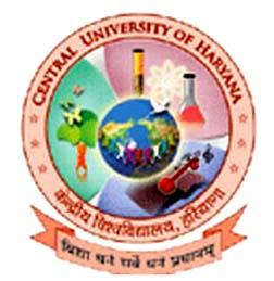 Central University of Haryana Recruitment 2015