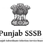 SSSB Punjab Recruitment 2016