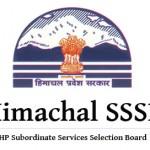 Himachal Pradesh SSSB Recruitment 2016