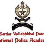 SVPNPA Academy Recruitment 2016