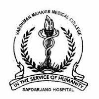 VMMC Safdarjung Recruitment 2016
