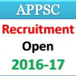 Arunachal Pradesh Public Service Commission Recruitment 2016