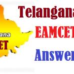 Telangana TS EAMCET II 2016 Answer Key MBBS, BDS